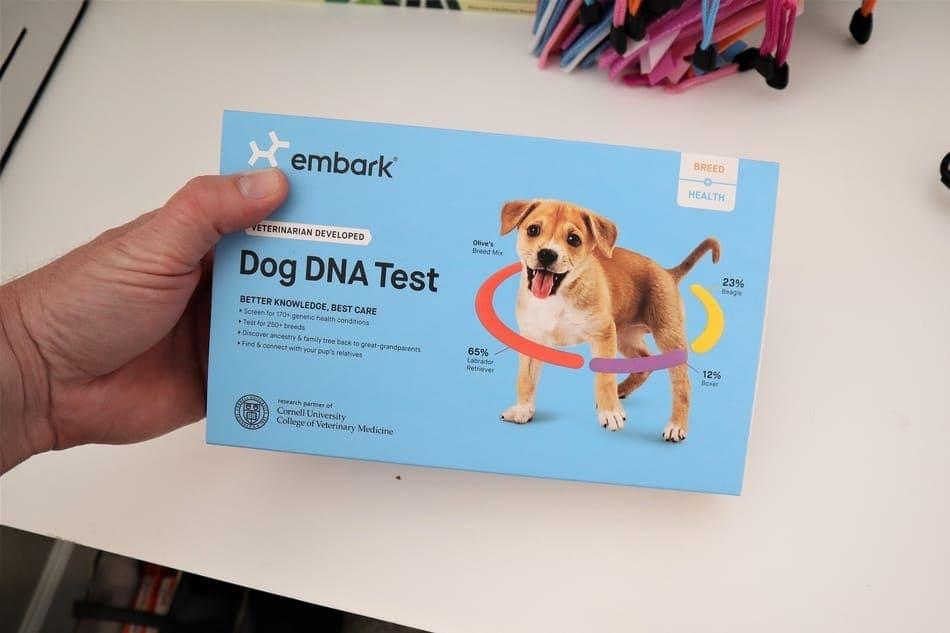My DNA kit.